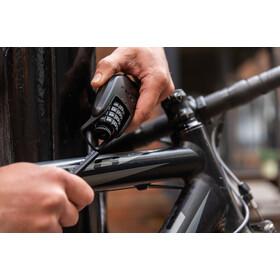 Hiplok Spin candado de cadena 6mm, negro
